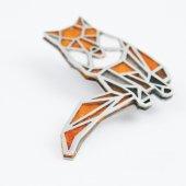 brož geometrická liška