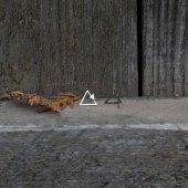 náušnice malý - velký trojúhelník