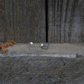 náušnice malý - velký čtverec